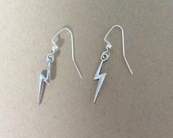 Harry Potter lightning bolt earrings
