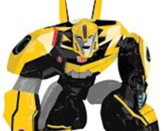 "Transformers Airwalker Balloon, Bumble Bee Balloon, Transformers Theme, Birthday Party, Transformers Party, Transformers Balloon, SALE, 47"""