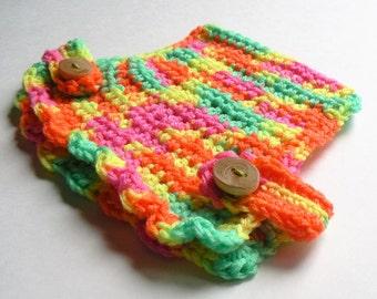 Chicken sweater-neon day glo