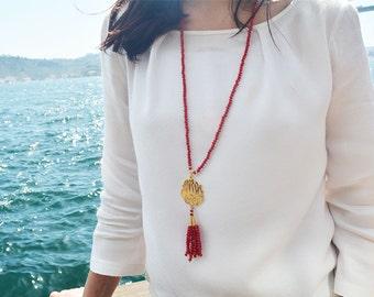 Maashallah islamique pendant, masallah necklace, islamic amulet, islamic pendant, calligraphy necklace, muslim jewellery, muslim lady gift