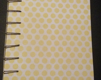 Belgian Bound Notebook - Polka dots