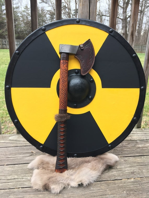 Custom Authentic Viking Shield from HyperealismPaintings ...