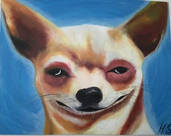 "Portrait color ""Chill OAU OAU"""