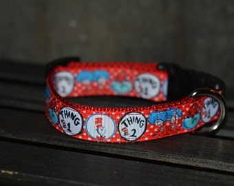 "1"" Dr. Seuss Collar"