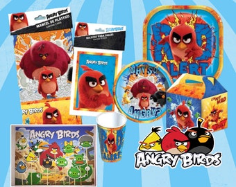 Angry birds Set birthday party