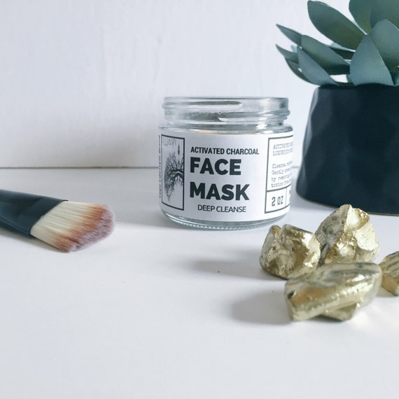 Organic Activated Charcoal Face Mask: Black Beauty Activated Charcoal Face Mask Clay By
