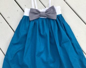 Elsa Themed Disney Princess Dress Disney Princess Dress 6-12 month, 12-18 month, 18-24 month, 2T, 3T, 4, 5, 6, 7