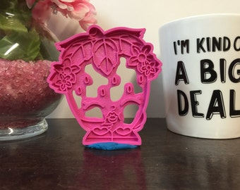 Strawberry Kiss - Cookie / Fondant Cutter - Shopkins - 3D Printed