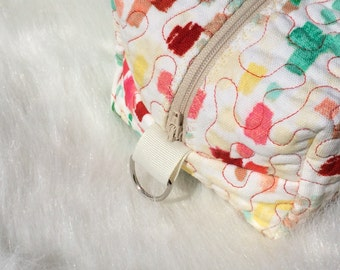 Colorful Zippered Bag
