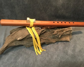 Handcrafted Native American Style Flute - Made From Premium Grade Redwood (Serial No. 0022)