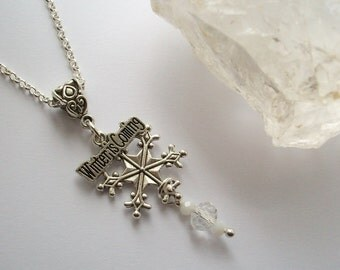 Winter is Coming - Snowflake necklace