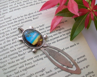 Paradise Found ~ turtle bookmark ideal for holiday reading