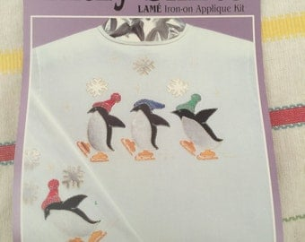 33152 Holiday Lame Iron-on Applique Kit P202