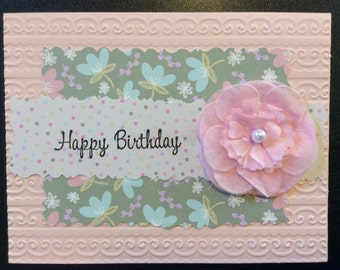 Homemade Card - Happy Birthday
