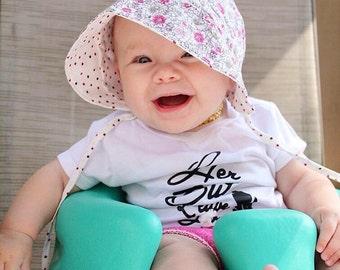 Baby bonnet / baby sun bonnet / baby hat / bonnet / sun bonnet