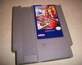 Chip N Dale Rescue Rangers 2 NES Nintendo reproduction Game