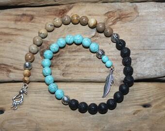 Pagn Prayer Beads-Native Spirit