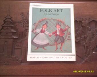 Folk Art by  Jo Sonja Jansen  Tole Painting Book