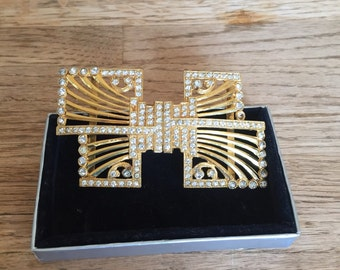 Womens Gold Belt Buckle