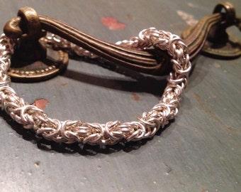 Sterling Silver Royal Chian Bracelet