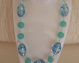 Beautiful Blues, Necklace