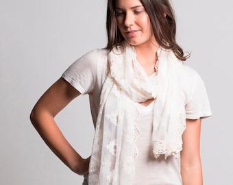 lace shawl. lace wrap. lace scarf vintage lace scarf. vintage lace.