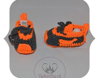 Nike trainers for babies crochet