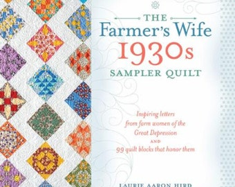 The Farmer's Wife 1930s Sampler Quilt Book KR T2131