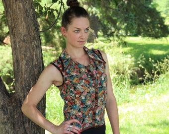 Country Floral Tank