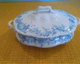 Antique Soup Tureen --T M & S 1859
