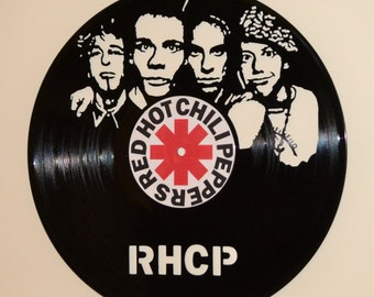 Red Hot Chili Peppers Record Wall Art