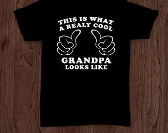 Really cool grandpa funny t-shirt tee shirt tshirt Christmas dad father dad family fun father's day humor grandfather grandpa grandad fun
