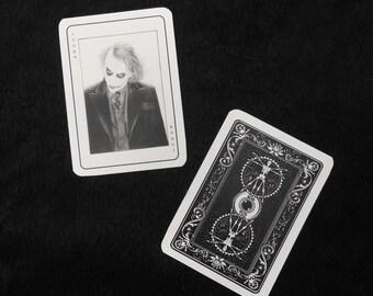 Heath Ledger Joker Card