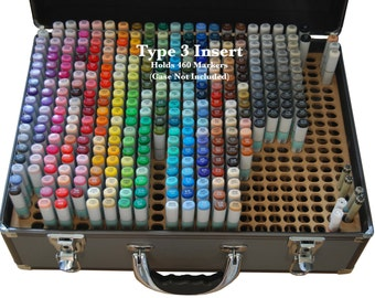 Copic Marker Storage TYPE 3 Organizer for Copic Art Carrying Case (Insert Only)