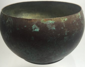 Copper Bowl small vintage