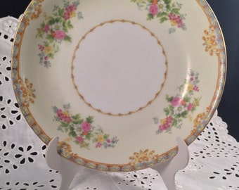 Set of 2 Vintage Noritake Soup Salad Bowls Floral Design