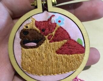 Dragon Age necklace (mabari hound)
