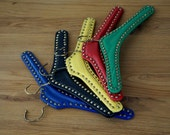 Various colorful coat hanger with rivets, 1950s/60s