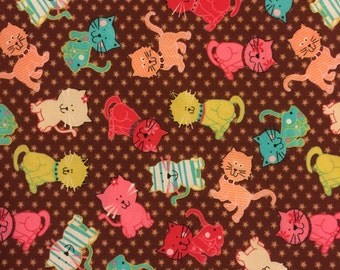 Pretty Kitty Crib Sheet