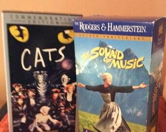 Vintage VHS Musicals