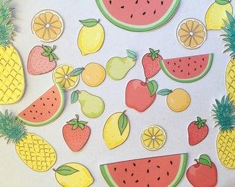 Fruity die cuts