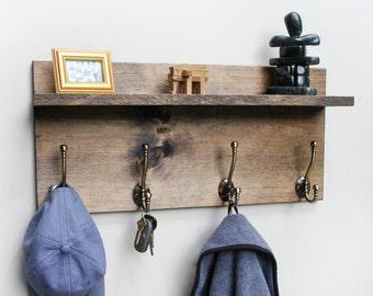 Rustic Coat Rack, Rustic Coat Hanger