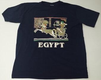 Vintage AMA Egypt souvenir tshirt size XL