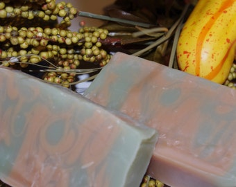 Falling Leaves Soap - Cold Process Soap - Handmade Soap
