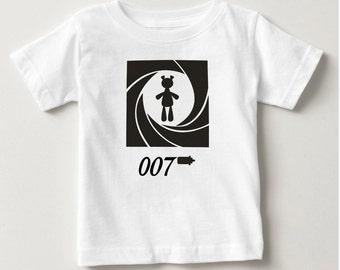 Baby James Bond Cool baby T-shirt