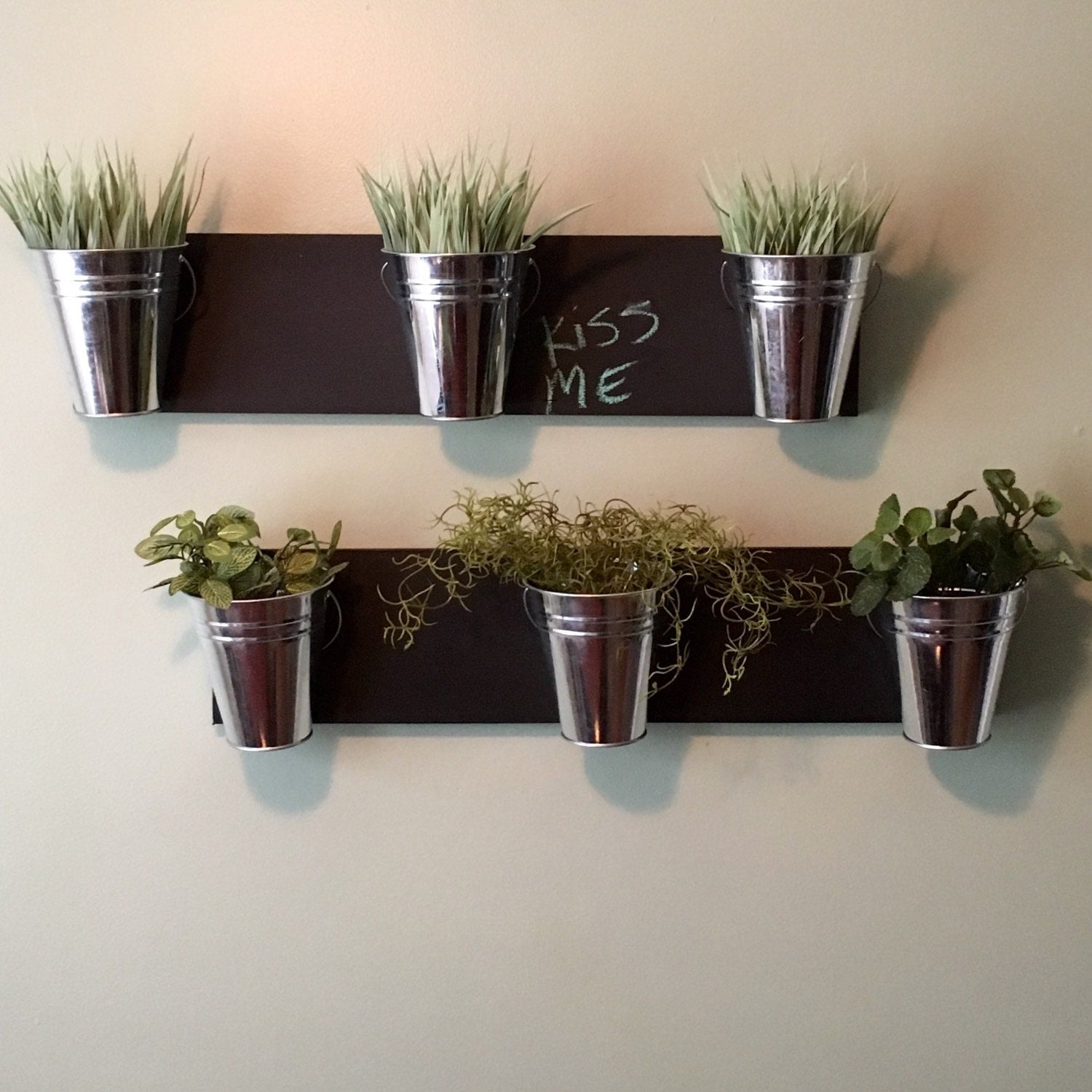 indoor wall planter horizontal mount. Black Bedroom Furniture Sets. Home Design Ideas