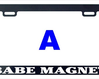 License plate magnet etsy for Worst fish extender gifts