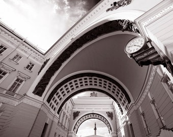 Black and White Photo Architecture poster Architecture sketch Architecture Arch Architecture Clock Architecture Petersburg Instant Download