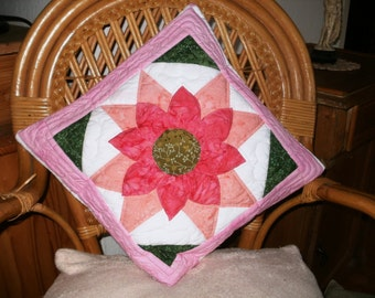 Patchwork Cushion in Amish Style