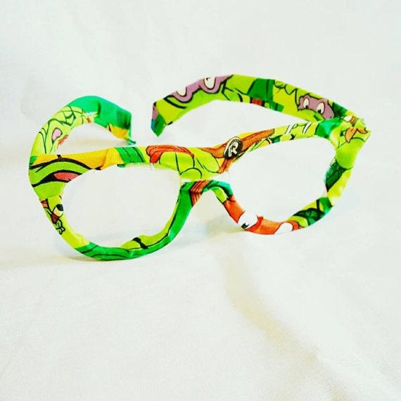 Glasses Unisex Ninja Turtles Fabric Covered by ...